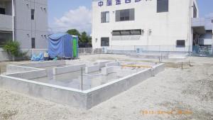 東三島戸建基礎1